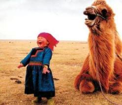camel feeling good