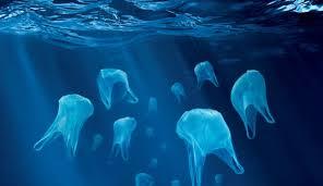 plastic jelly fish