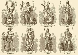 roman greek gods