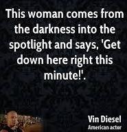 vin diesel woman