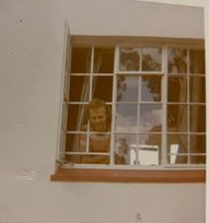 The head in thewindow