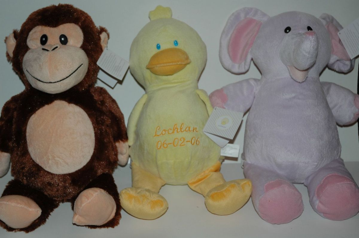 The duck, the monkey and theelephant